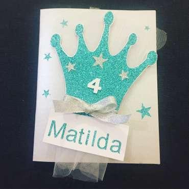 Carte Matilda de Princesse