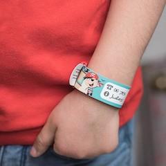 bracelet d'identification Ludi Label