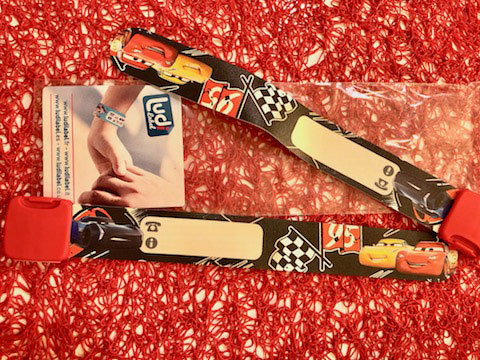 Bracelet d'identification Ludilabel