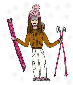 Maman Qui Cartonne au Ski