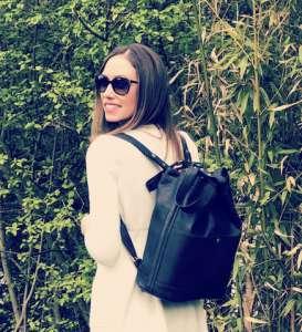 mon Backpack Josefina porté en sac à dos