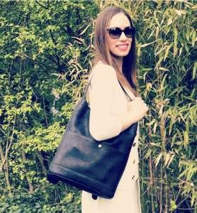 mon Backpack Josefina porté en sac sceau