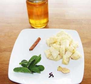 ingrédients pour préparer le sirop Beta