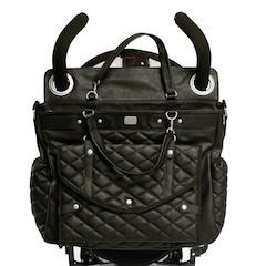 Magic Stroller Bag LADY Chic Sac à Langer - Noir matelassé