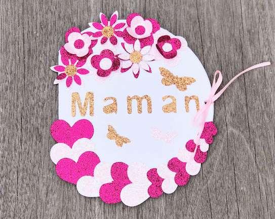 Modèle 1 carte fête des mères