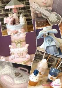 Gâteau de couches 3 en 1