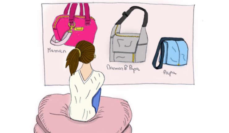 Le sac à langer forme bandoulière : un incontournable
