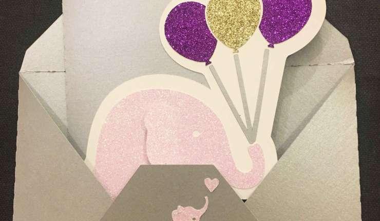 Carte elephant Romane