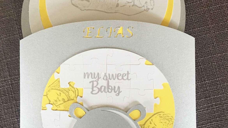 Faire-part naissance Elias