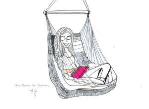 chaise hamac tropilex - bouquiner - unemamanquicartonne