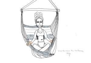 chaise-hamac-meditation - unemamanquicartonne