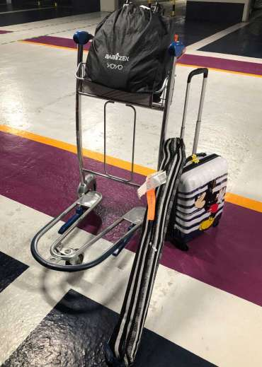 bagage chaise hamac tropilex