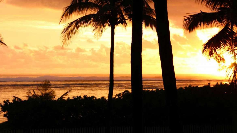 coucher de soleil-la saline les bains, Réunion
