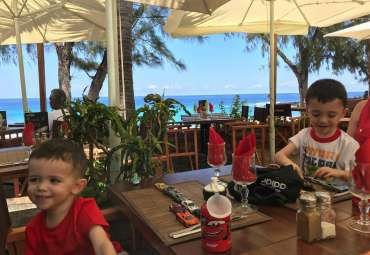 pause déjeuner Boucan Canot, Réunion