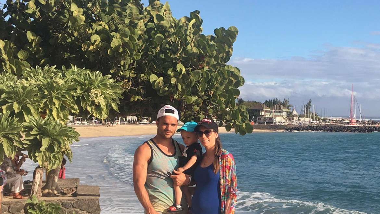 plage Roches Noires, île de la Réunion
