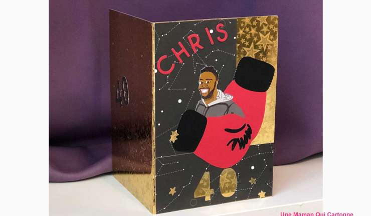 Carte anniversaire Chris
