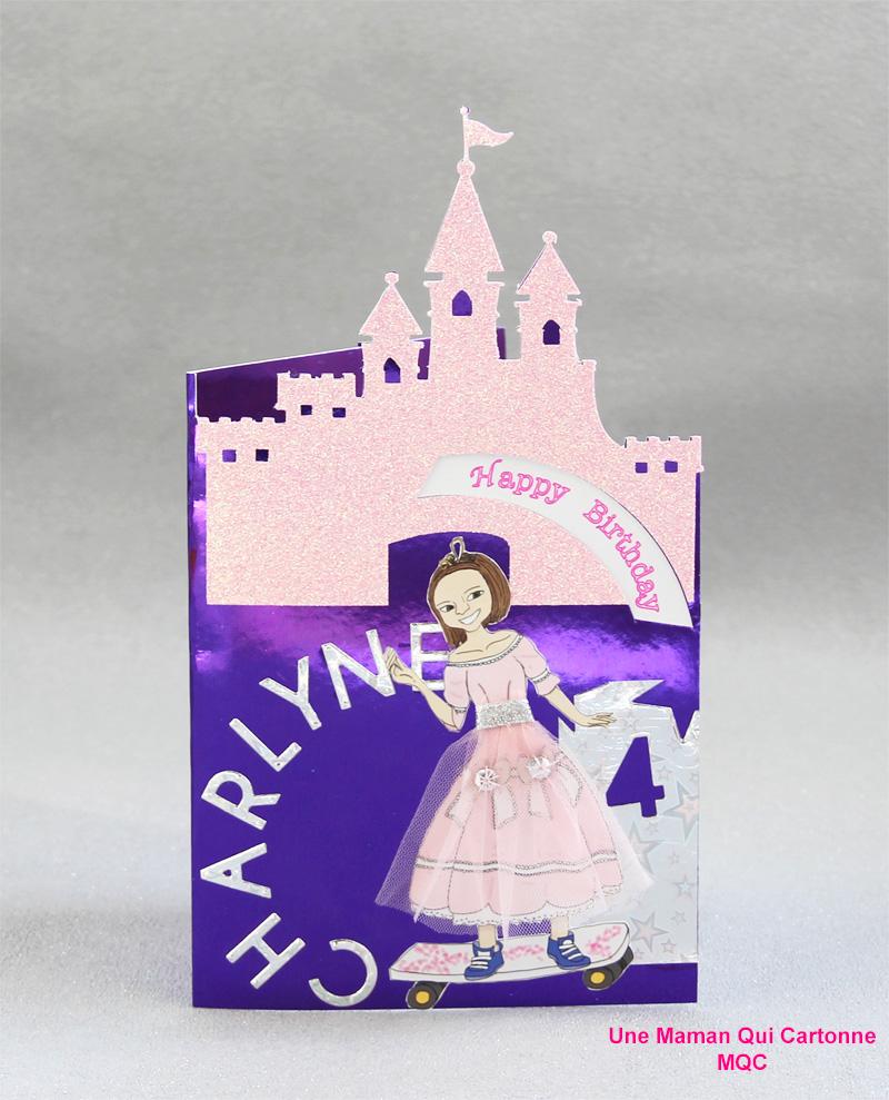 Charlene Princess birthday card 1