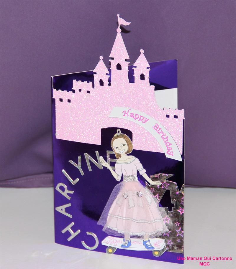 Charlene Princess birthday card 3