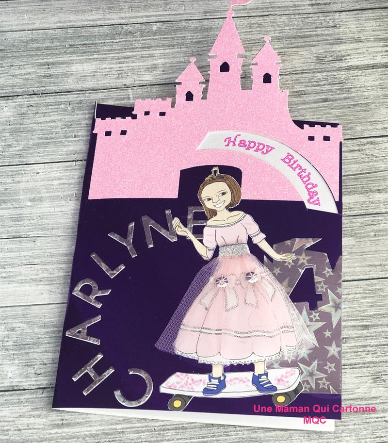 Charlene Princess birthday card 4