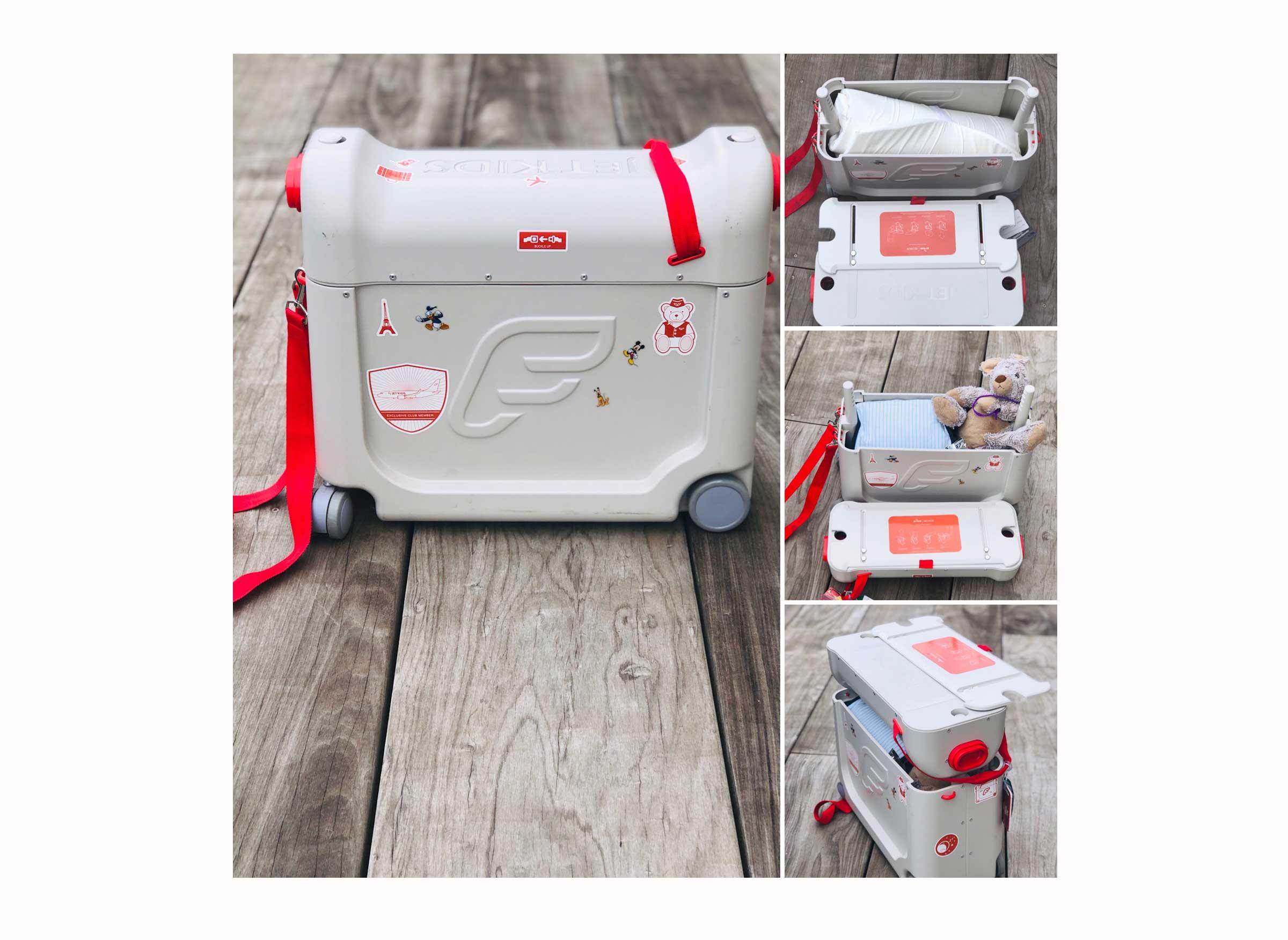 BedBox de JetKids : un bagage enfant 3 en 1