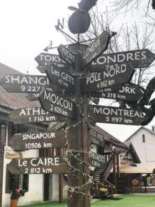 le hameau du père Noël en Savoie