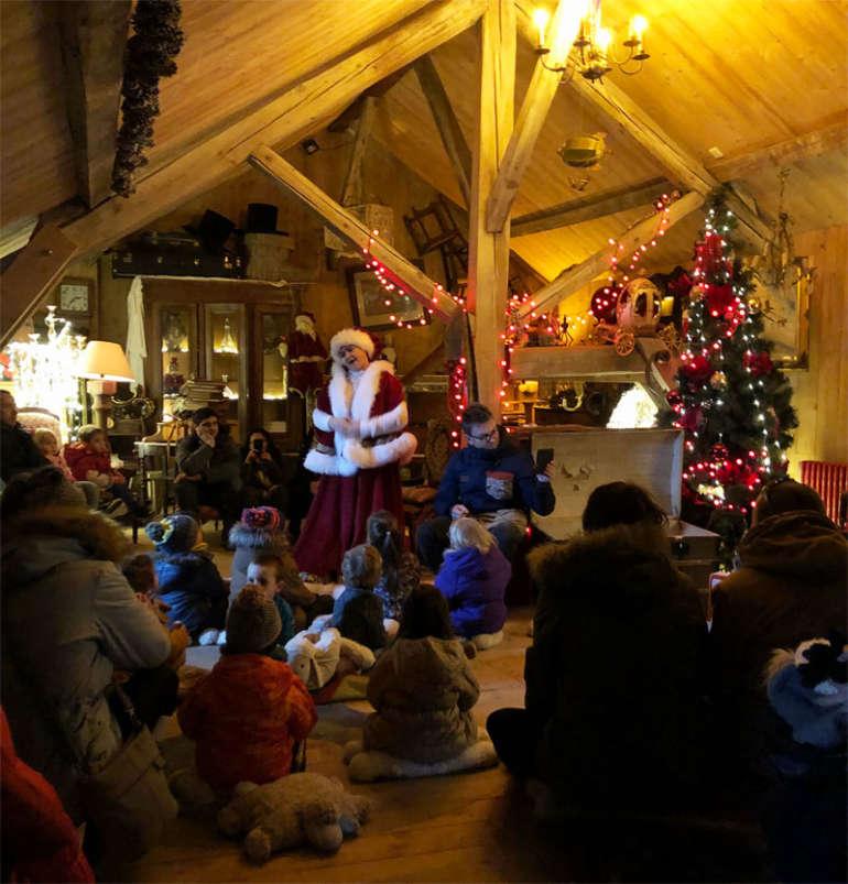 les contes de la mère Noel - hameau du père Noel