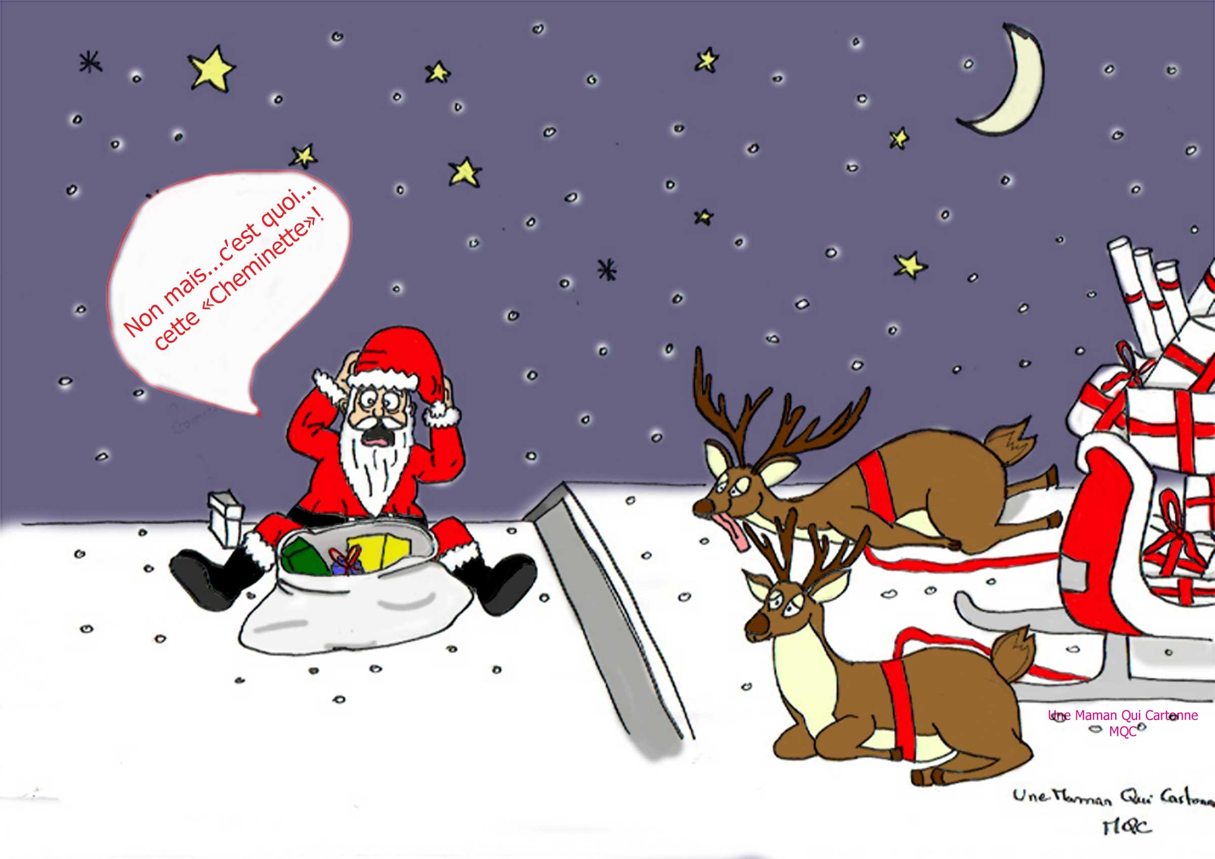 Le Père Noël et sa distribution de cadeaux  en 5 points