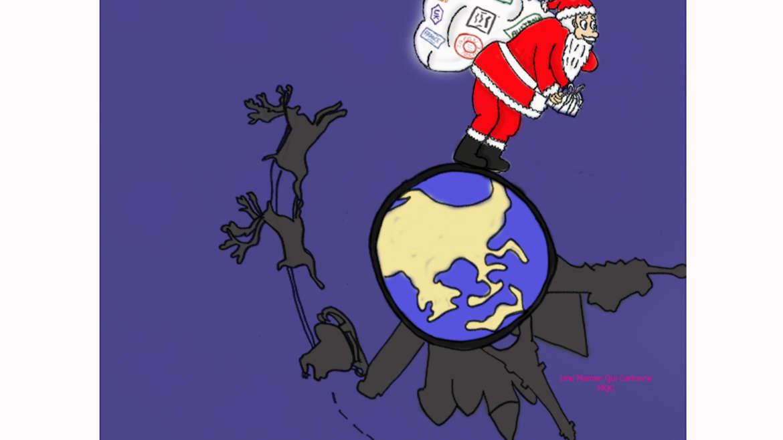 Le Père Noël, globetrotteur chevronné